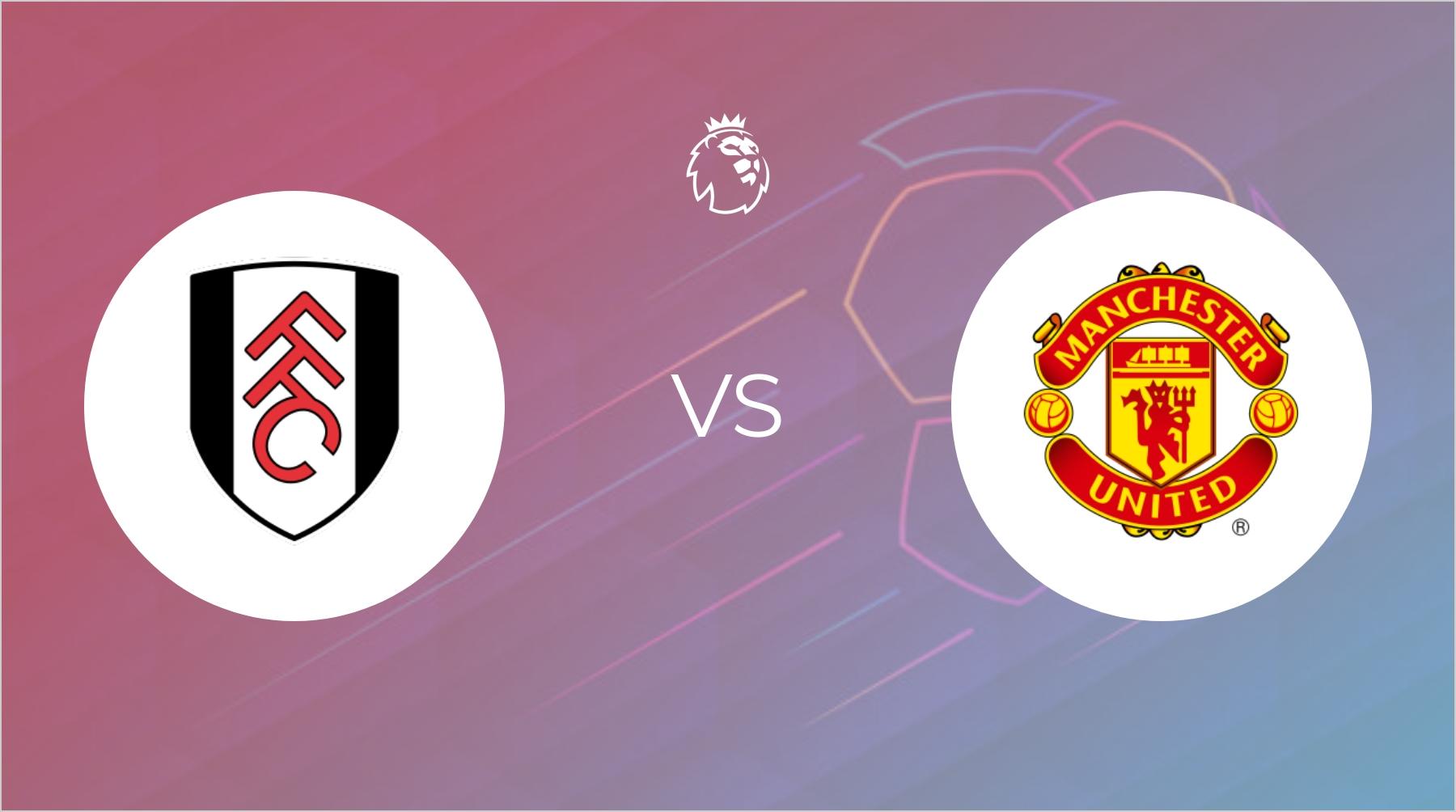 Fulham passer godt på målet mod Manchester United