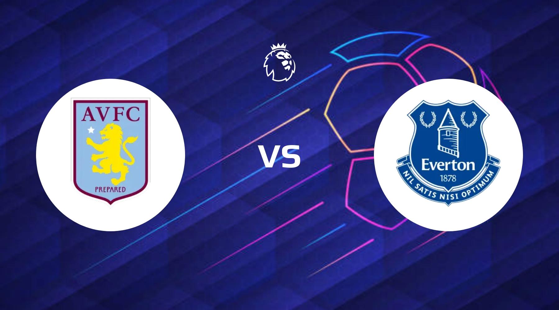 Everton på udkig efter femtepladsen når de går op imod Aston Villa