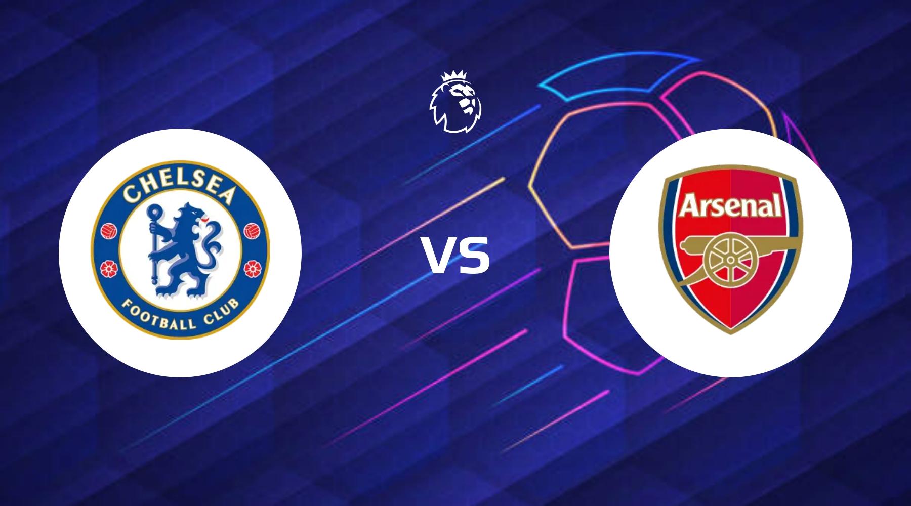 London-brag på Stamford Bridge når Arsenal gæster Chelsea