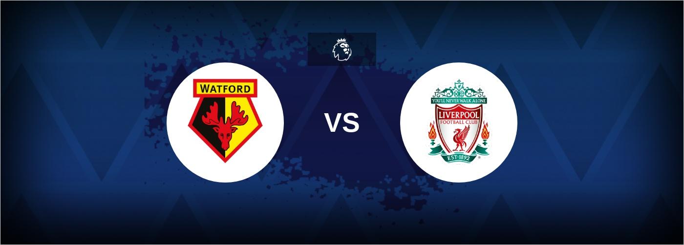 Watford med mester-manager mod Liverpool